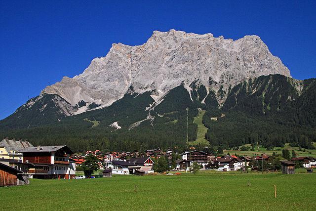 Rob Hill Climbs Zugspitze
