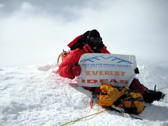 Rob Hill At Everest Summit