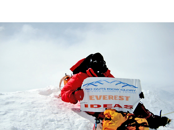 Rob Hill Climbed Mount Everest